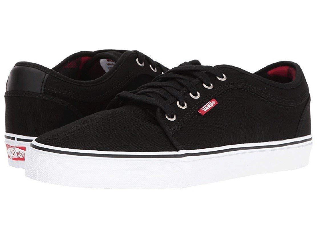 77d606b7218f65 S l1600. S l1600. Previous. NEW VANS CHUKKA LOW FLANNEL BLACK CHILI SIZE MENS  7 25 CM SHOES WOMENS ...