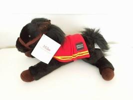Wells Fargo MIKE Black Legendary Pony Horse Plush Stuffed Animal Toy 2016 w/ tag - $11.39