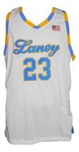 Michael Jordan #23 Laney High School Basketball Jersey New White Any Size image 1