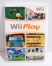 Wii Play (Nintendo Wii, 2007) Complete - $5.95