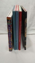 Lot of FIVE hardcover cross stitch books on ideas how tips and tips and ... - $14.52