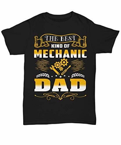 Mechanic Dad Shirt Funny Tee Birthday Gifts from Daughter and Son for Men Daddy