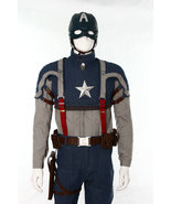 The Avengers Captain America Steve Rogers Cosplay Costume Whole Set - $463.46