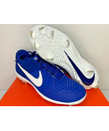 NIB SIZES 8.5-14 MEN Nike Alpha Huarache Varsity LW Metal Baseball Cleat... - $49.99