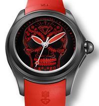 New Corum Bubble red skull Hallaween auto men's watch L082/03193 - $3,740.00