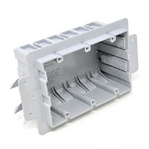 NEW Inexco ICF-3-RL 3-Gang PVC Old Work Box 53 Cubic Inches (B415) - $15.83