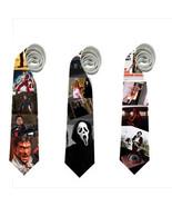 necktie texas chainsaw massacre evil dead ash scream Ghostface Leatherfa... - $22.00