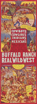 Cowboys Cowgirls Indians Vintage Poster Wild West Show Native American Canvas - $345.51