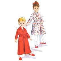 Vintage McCalls Sewing Pattern 4613 Childrens Boys Girls Bath Robe Unise... - $6.95