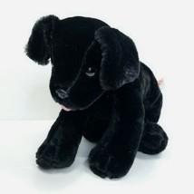 "Benson Black Lab Puppy Dog Stuffed Animal Melissa & Doug Plush Labrador 12"" Long - $14.84"