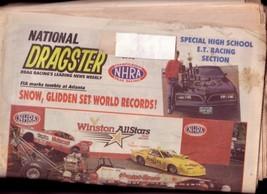 NATIONAL DRAGSTER-NHRA-6/24/88-DENNY LUCAS-PAT AUSTIN- VG - $31.04