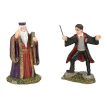 Department 56 Harry Potter Village Harry And The Headmaster 6002314 - $30.82