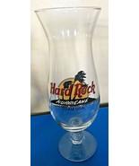 GUAM USA Hard Rock Cafe Hurricane Glass Circle Logo with Palm Trees  - $24.99