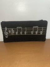 Vintage Albert Elovitz Beaded Piano Mini Purse Wallet - $24.75