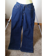 womens blue jeans pants womens pants size 10 Medium denim wide leg 29 x ... - $12.99