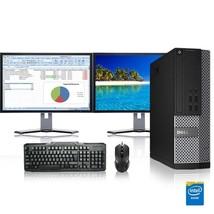 Dell Computer 3.3 G Hz Pc 16GB Ram 2 Tb Hdd Windows 10 - $415.35