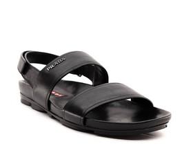 Prada Fashion Sandals Ankle Strap Leather Size 11.5 NIB - $411.36 CAD