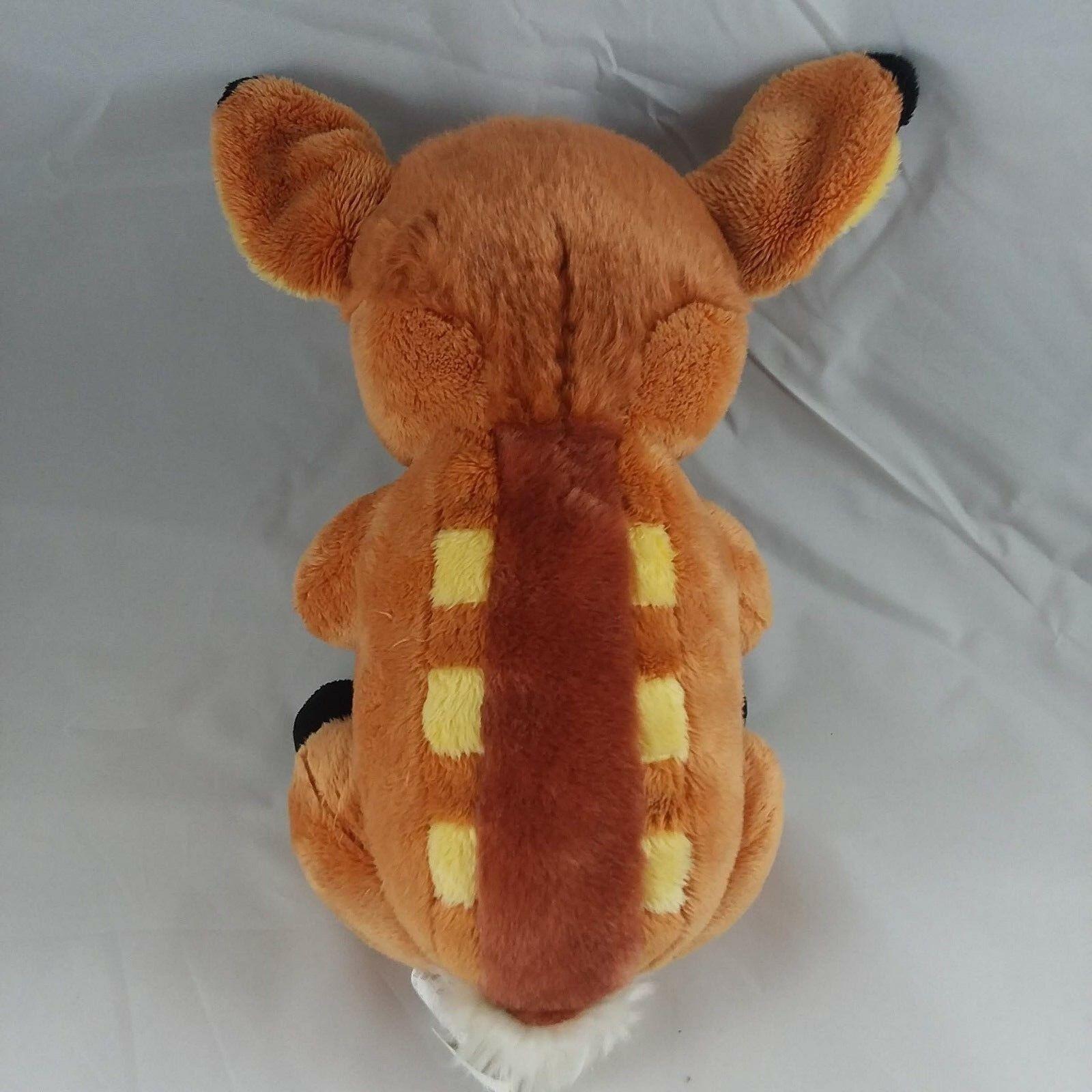 "Disney Parks Babies Bambi Deer Fawn Plush Stuffed Animal 10""  FREE SHIPPING"