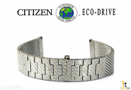 Citizen Eco-Drive BU2010-65L 23mm Stainless Steel Watch Band S098360 S10... - $169.61