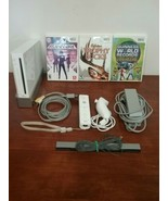 Nintendo Wii Console bundle Tested w/ 3 games - $45.00