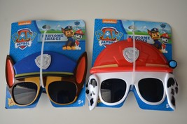 (2) Paw Patrol Sun Staches Shades Sunglasses Mask Dress Up Disguise Glas... - $14.95