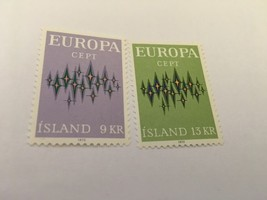 Iceland Europa 1972  mnh   #abcd    stamps - $2.00