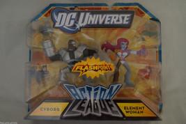 DC Universe Action League Flash Point Cyborg & Element Woman - $7.69