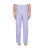 Alfred Dunner Nantucket Straight Pull-On Pants Size 14 Short $48.00 Iris   - $14.99