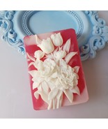 You are buying a soap - Blooming Garden No. 1 - scented handmade soap - $14.85