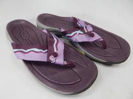 Keen Kona Flip Flop Women's Sport Sandals Size 7 M (B) EU 37.5 Grape / Lavender