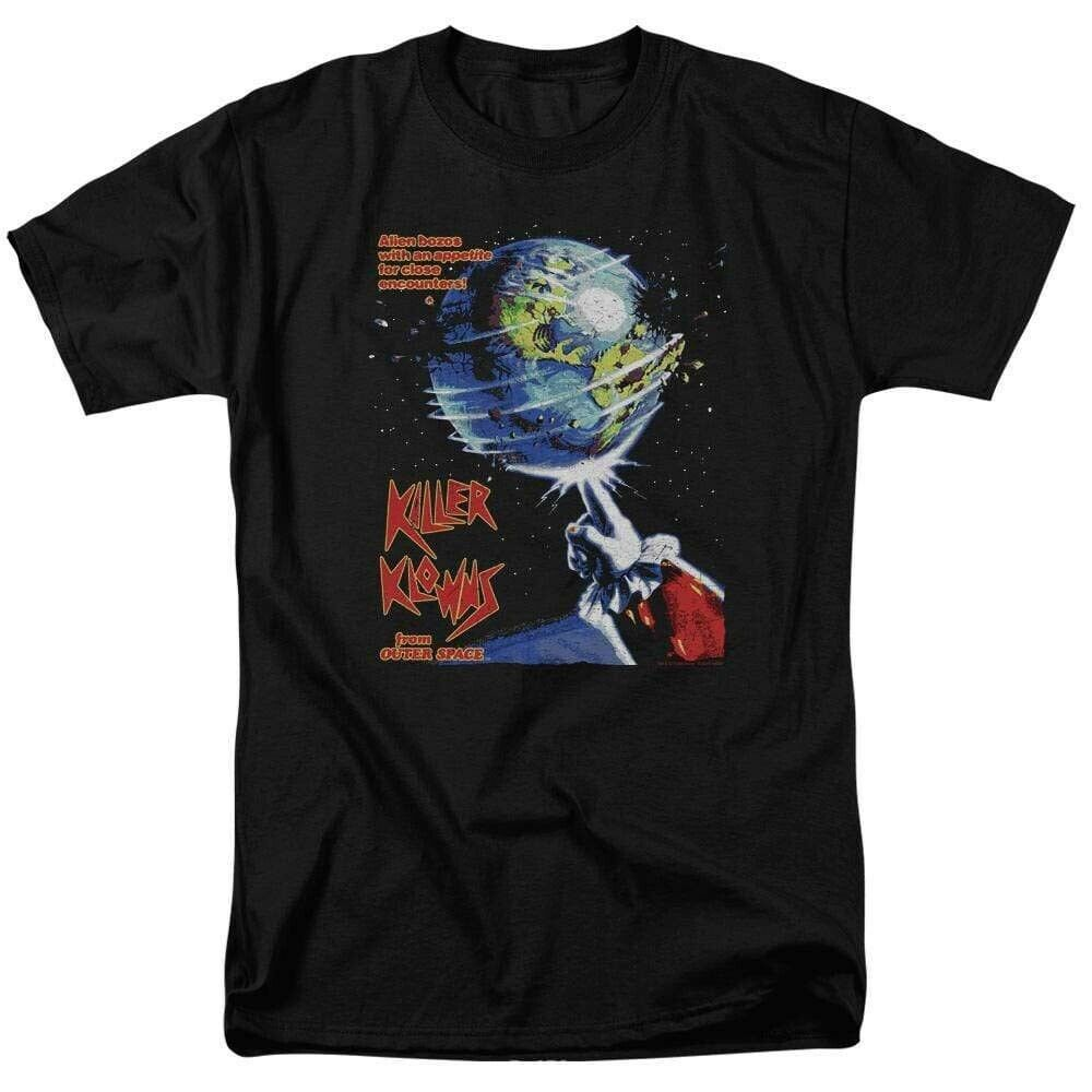 Killer Klowns From Outer Space T-shirt retro 1980's sci fi horror b movie MGM330