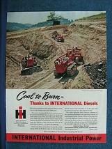 1946 International Harvester Diesel Crawler Tractor  Ad -  Coal - $7.87