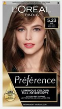L'Oreal Preference Permanent Hair Dye 5.23 RIO Very Deep Rose Gold Brown - $20.63