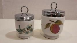 Royal Worcester Egg Coddler's  King & Small Size Porcelain  - $14.05