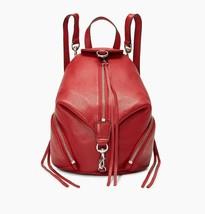 NWT REBECCA MINKOFF Julian Mini Convertible Leather Backpack Shoulder Ba... - $148.00