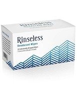 Rinseless Deodorant Wipes Individually Wrapped 24 Count Travel Friendly ... - $14.12