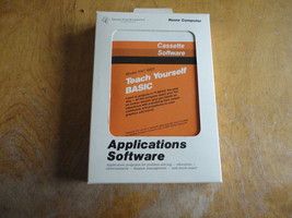 TEXAS INSTRUMENTS TI 99/4A Teach Yourself BASIC cassette software boxed ... - $4.79