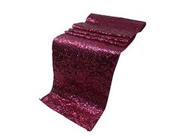 Liva Home Pack Of 9 Wedding 13 x 108 inch Sequin Table Runner Wedding Ba... - $114.34 CAD