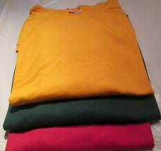 Men's Women T-Shirts 2XL Murina & Others 100 pc 50/50 Cotton/Polyester - $275.50
