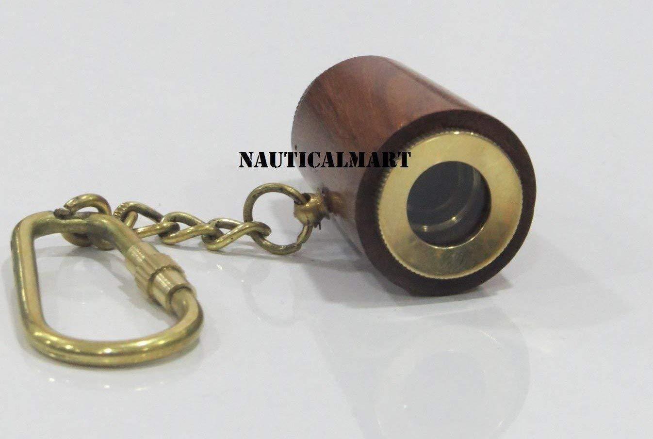 NauticalMart Nautical Gift Key Chain Maritime Marine Rope Knot White Key Ring