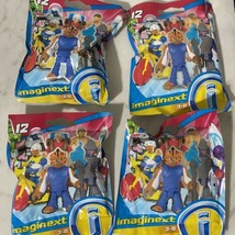 Imaginext Series 12 Lot of 4 Assorted Blind Bags - $17.82