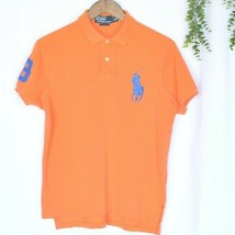 Authentic POLO by Ralph Lauren Short Sleeve Mesh Big Pony Polo Shirt - $22.72