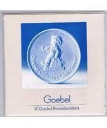 Vintage 1976 Hummel Goebel Collector's Club Member Porcelain Plaque - $7.91
