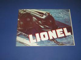 1936  LIONEL CATALOG - $21.99