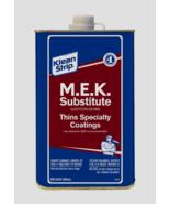 Klean Strip MEK SUBSTITUTE Thins Speciality Coatings 1 qt QME71SUB (NO C... - $18.61