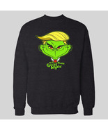 TRUMP THE GRINCH MAKE XMAS GREAT AGAIN XMAS SWEATER OLDSKOOL - $34.64+