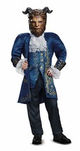 Beast Deluxe Movie Costume, Blue, Medium 7-8 - £43.98 GBP