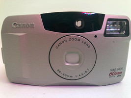 Canon Sure Shot 60 35mm Point & Shoot Film Camera - $13.57