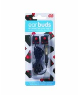 DCI 30260 Joystick Wired Headsets Earbuds - Retail Packaging - Black/Red - $6.32