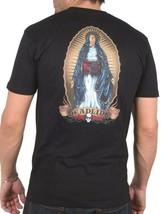 Deadline Nero da Uomo Vergine Maria Suicide Bombardiere T-Shirt DL-T2305 NW